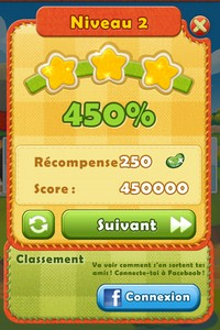 2014 01 03 09.23 L'application gratuite du Jour : Farm Heroes Saga   Un Hit en puissance