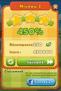 2014 01 03 09.23 L'application gratuite du Jour : Farm Heroes Saga   Un Hit en puissance