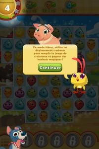 2014 01 03 19.39 L'application gratuite du Jour : Farm Heroes Saga   Un Hit en puissance