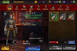 2014 01 14 22.00 L'application gratuite du Jour : Eternity Warriors 3   Un excellent jeu en 3D