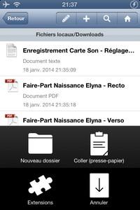 2014 01 18 21.37 L'application gratuite du Jour : FileApp ( Gestionnaire de Fichiers )