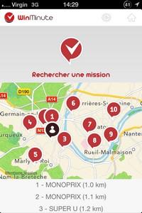 2014 01 26 14.29 L'application gratuite du Jour : WinMinute – gagner de l'argent sans perdre une minute