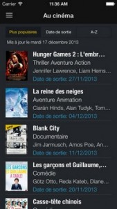 L'application gratuite du Jour : CineTrailer Cinemà