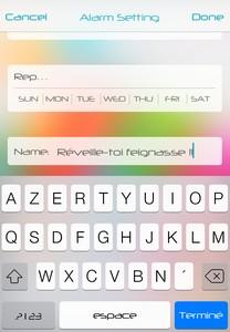 4 L'application gratuite du Jour : Rocket Alarm Sleep if u can