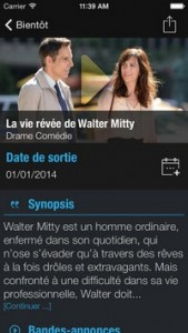 L'application gratuite du Jour : CineTrailer Cinemà