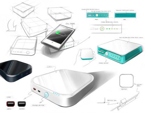 accessoire batterie externe rechargable sans fil pour iphone 73. Black Bedroom Furniture Sets. Home Design Ideas