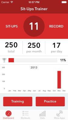 Sit Ups Les bons plans App Store de ce samedi 18 janvier 2014