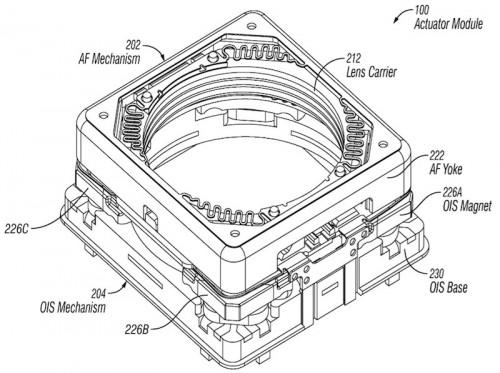 brevet stabilisateur optique 500x373 Brevet : un stabilisateur optique pour le prochain iPhone ?