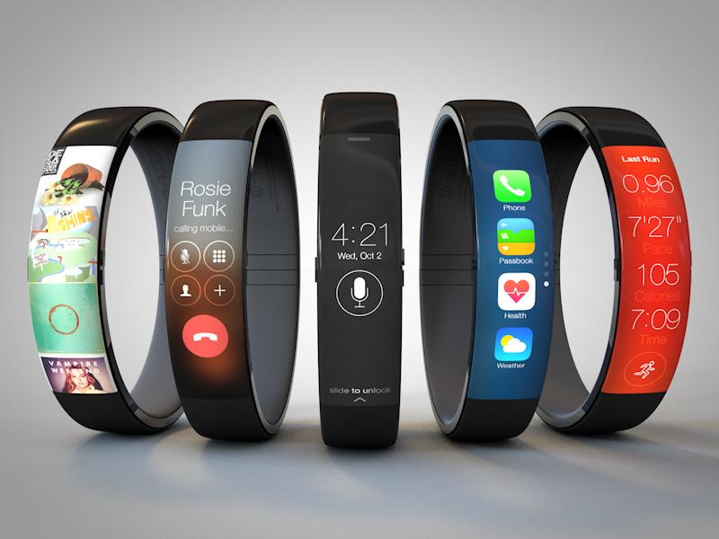 concept iWatch bracelet Un concept diWatch façon Nike+ Fuelband en images