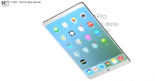 ipad pro concept 500x263 Un concept diPad Pro en vidéo