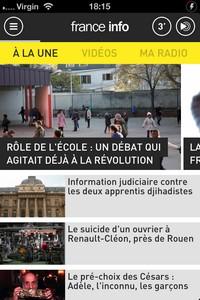 2014 02 03 18.15 L'application gratuite du Jour : FRANCE INFO
