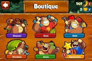2014 02 08 09.11 L'application gratuite du Jour : Banana Kong