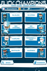 2014 02 10 21.20 L'application gratuite du Jour : Flick Champions Winter Sports