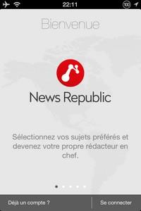2014 02 14 22.11 L'application gratuite du Jour : News Republic