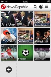 2014 02 14 22.12 L'application gratuite du Jour : News Republic