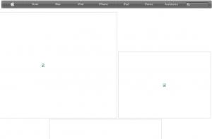 Apple Site internet bug1 300x197 Apple a décidément du mal avec son site internet