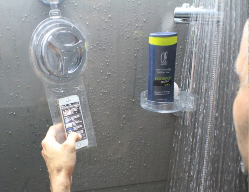 HOYO 500x385 Utilisez votre iPhone sous la douche avec HOYO