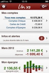 Linxo image 1 L'application gratuite du Jour : Linxo + Exclusivité App4Phone pour un mois dabonnement Premium gratuit