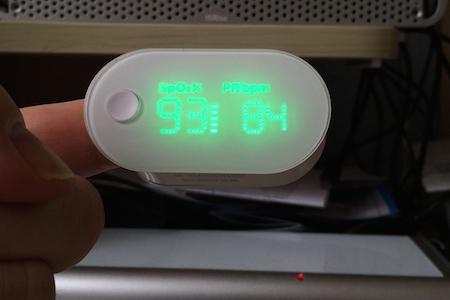 Oxymetre 005 Test de lOxymetre de pouls sans fil de iHealth (80€)