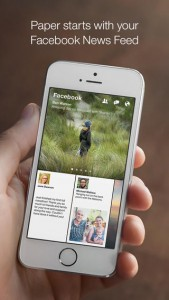 Facebook : Paper (gratuit) disponible aux USA   pour linstant