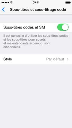 astuce soustitres 1 Astuce iOS : Activer et personnaliser les sous titres