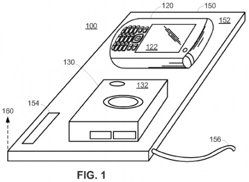 smartdock 500x365 Brevet Apple : un dock de recharge par induction intelligent