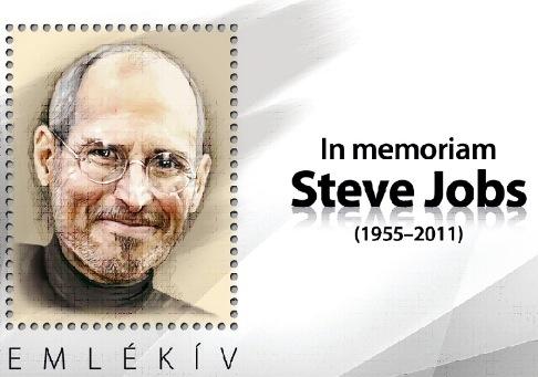 steve jobs timbre hongrie Steve Jobs aura droit à son timbre poste commémoratif aux USA