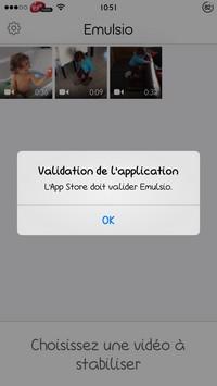 2014 03 01 10.51 L'application gratuite du Jour : Emulsio   Stabilisation vidéo avancée