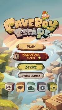 2014 03 02 15.12 L'application gratuite du Jour : Caveboy Escape
