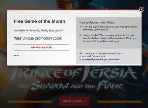 PoP gratuit 500x364 Téléchargez gratuitement Prince of Persia : the Shadow and the Flame (2,69€)
