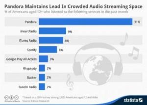 Stats iTunes Radio 300x214 iTunes Radio : déjà 3e aux USA