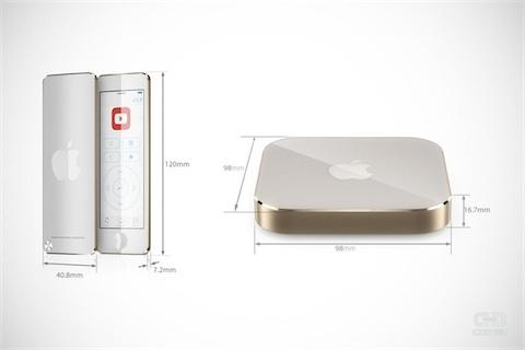 apple tv concept Un concept dApple TV en images