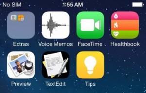 icones iOS 8 300x192 iOS 8 : de nouvelles icônes et applis ?