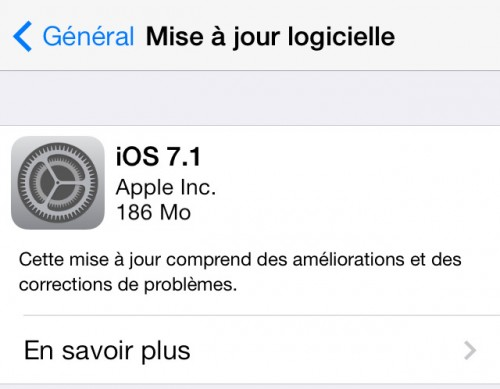 ios7 1 500x389 iOS 7.1 enfin disponible !