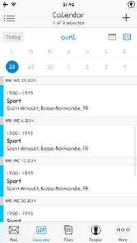 2014 04 28 21.42 L'application gratuite du Jour : Acompli Email & Calendar