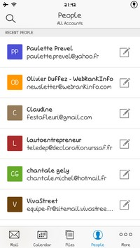 2014 04 28 21.44 L'application gratuite du Jour : Acompli Email & Calendar