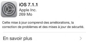 iOS 7.1.1 300x153 iOS 7.1.1 disponible au téléchargement