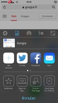 2014 05 13 09.37 L'application gratuite du Jour : Sleipnir Mobile   Navigateur internet
