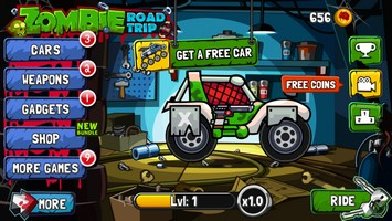 2014 05 19 20.41 L'application gratuite du Jour : Zombie Road Trip