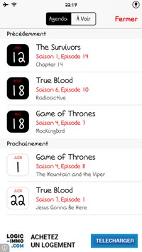 2014 05 22 22.19 L'application gratuite du Jour : TV Show Tracker 3