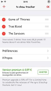 2014 05 22 22.42 L'application gratuite du Jour : TV Show Tracker 3