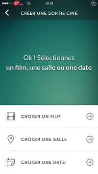 2014 05 27 10 L'application gratuite du Jour : Séance Ciné