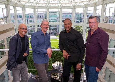 Apple Beats2 Le rachat de Beats est maintenant officiel