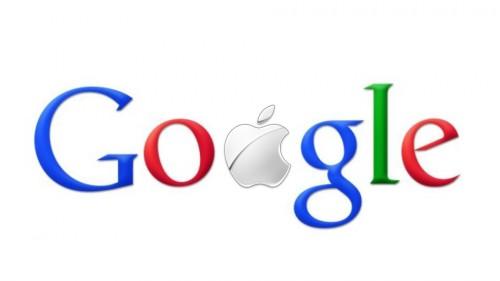 Apple Google 500x281 La fin de la guerre Apple/Google ?
