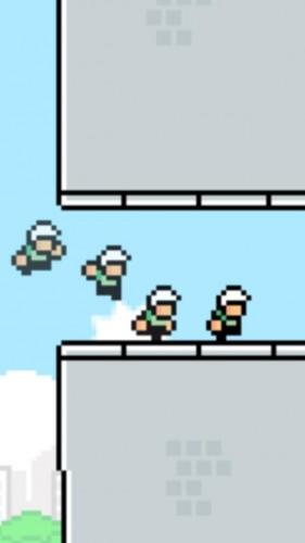 prochain flappy game 281x500 Un aperçu du prochain jeu du créateur de Flappy Bird
