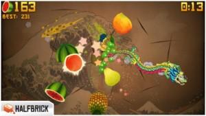 Fruit Ninja : gratuit temporairement !