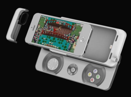 Junglecat 500x371 Accessoire : Une manette pour iPhone qui tient dans la poche