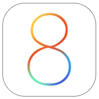 Logo iOS8 iOS 8 et Mac OS X Yosemite : Apple va supprimer les données stockées