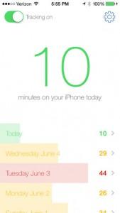 Moment (gratuit) : lapplication qui révèle votre addiction à votre iPhone