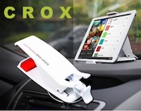Support Voiture Stand Universel CROX pour Smartphones et Tablettes Accessoire : Bon plan, Support Voiture universel iPhone, iPod, iPad (19,95€)